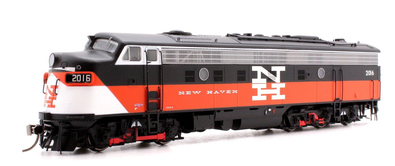 EMD FL9 New Haven Eder-5 (As Built) Diesel Locomotive #2016 DCC/SOUND