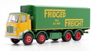 EFE 37301 Fridged Freight AEC MkV 4 Axle Box Van