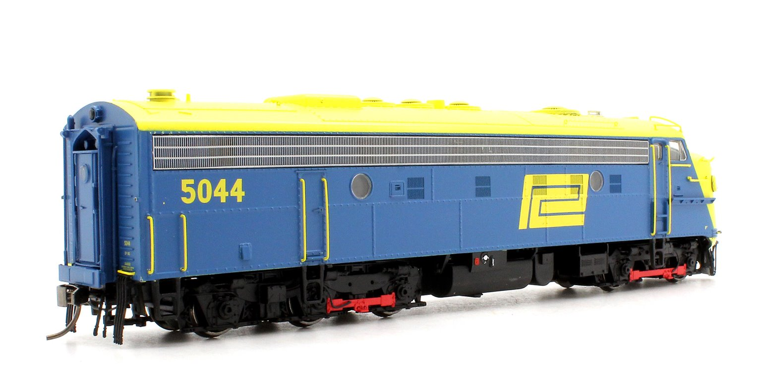 EMD FL9 Penn Central Blue/Yellow Diesel Locomotive #5044 DCC/SOUND