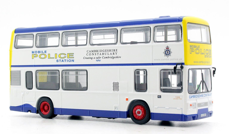 EFE 28807 Cambridgeshire Police Leyland Titan 2 Door Bus