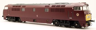 Western Dragoon Class 52 BR Maroon SYP D1034 - DCC Fitted