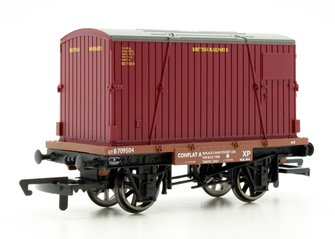 Conflat and Container Wagon