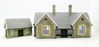 Hornby Skaledale R9836 Granite Station Buiding