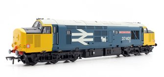 Class 37/4 37401 'Mary Queen of Scots' BR Blue Large Logo