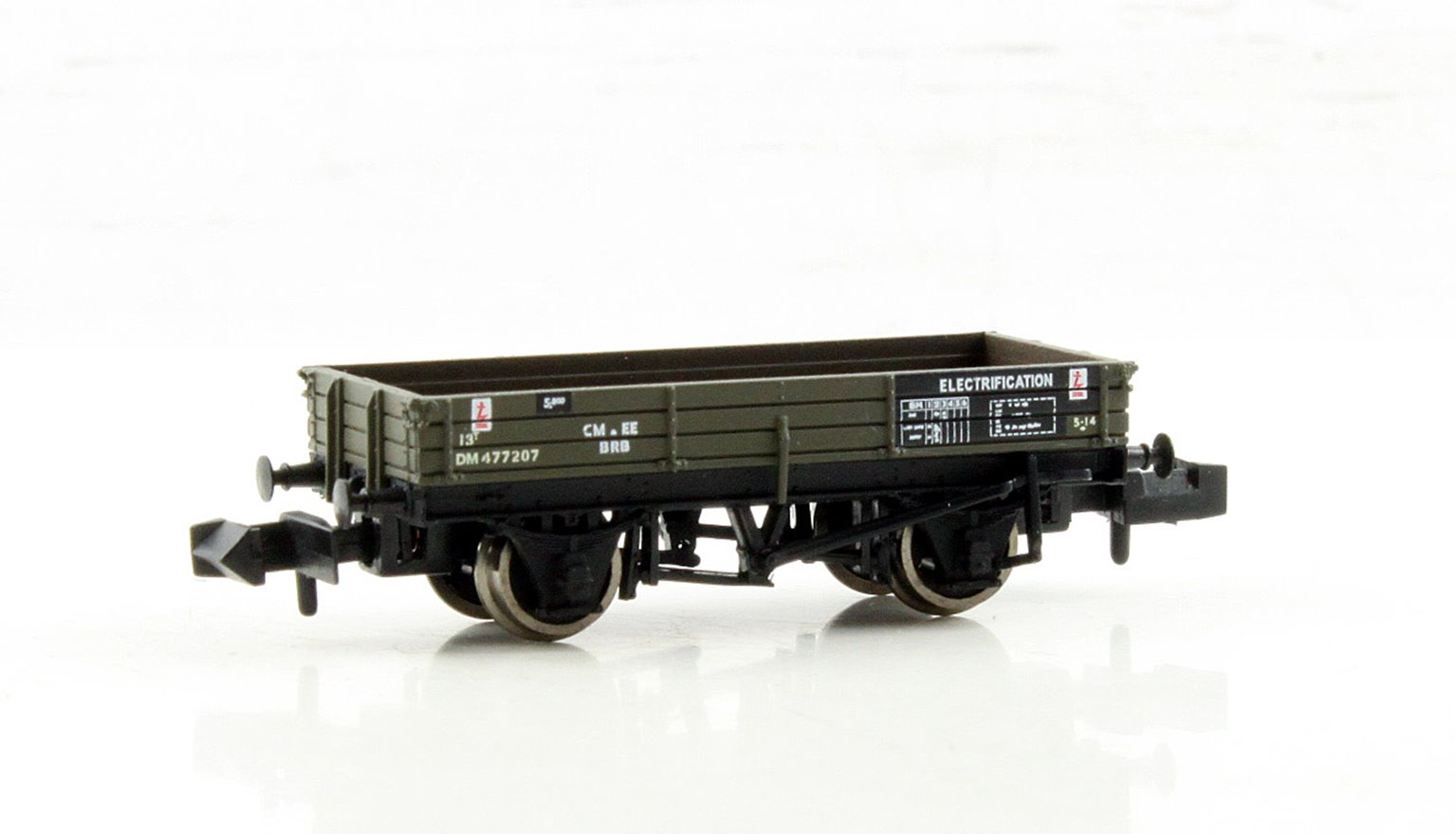 3 Plank Wagon BR Departmental Olive Green