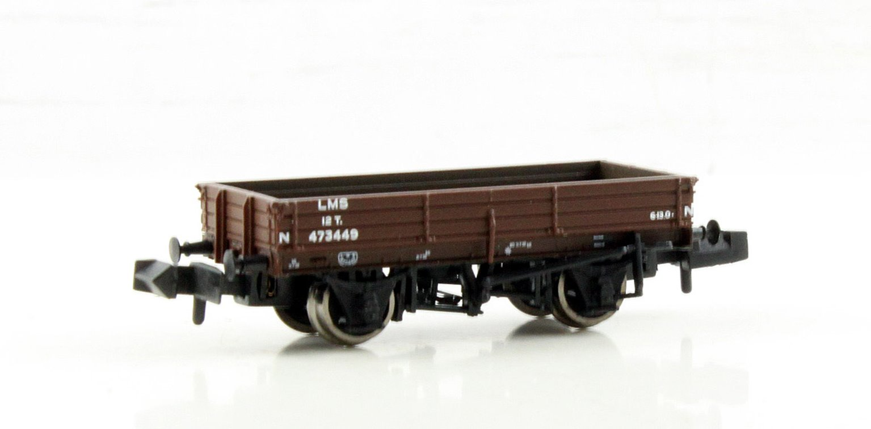 3 Plank Wagon LMS Bauxite