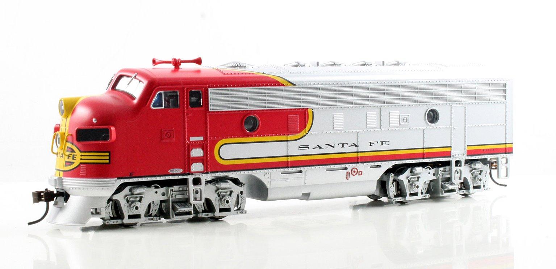 Santa Fe F7 A Diesel Locomotive (DCC Sound)