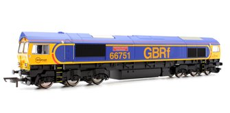 GBRf Class 66 751 'Inspiration Delivered' Hitachi Rail Europe Locomotive