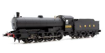 LNER Black Raven Q6 Class 0-8-0 Locomotive '2265'