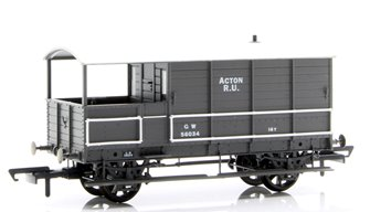 Toad Brake Van GWR 4 Wheel Plated (late) Acton 56034