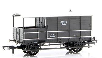 Toad Brake Van GWR 4 Wheel Plated (late) Acton 56034