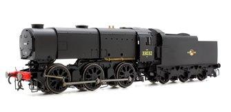 BR Black (Late) Class Q1 0-6-0 Steam Locomotive 33032