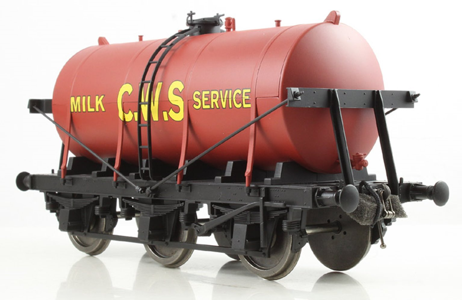 6 Wheel Milk Tanker CWS Red