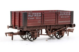 5 Plank Wagon Alfred Jukes - Weathered