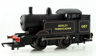 RailRoad 0-4-0 'Mosley Tarmacadam' Ex-Industrial Locomotive #087