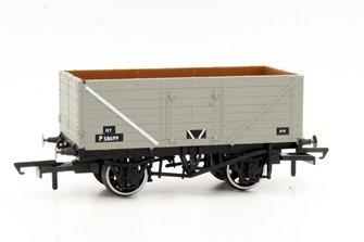 7 Plank Wagon - BR Grey P58699