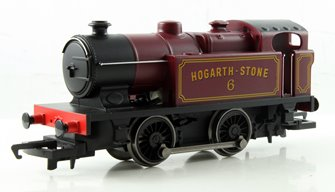 RailRoad 0-4-0 'Hogarth Stone' Ex-SR Tank Locomotive #6