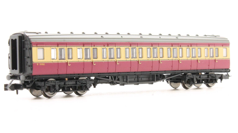 Maunsell Coach BR 3rd Class Crimson & Cream 2352