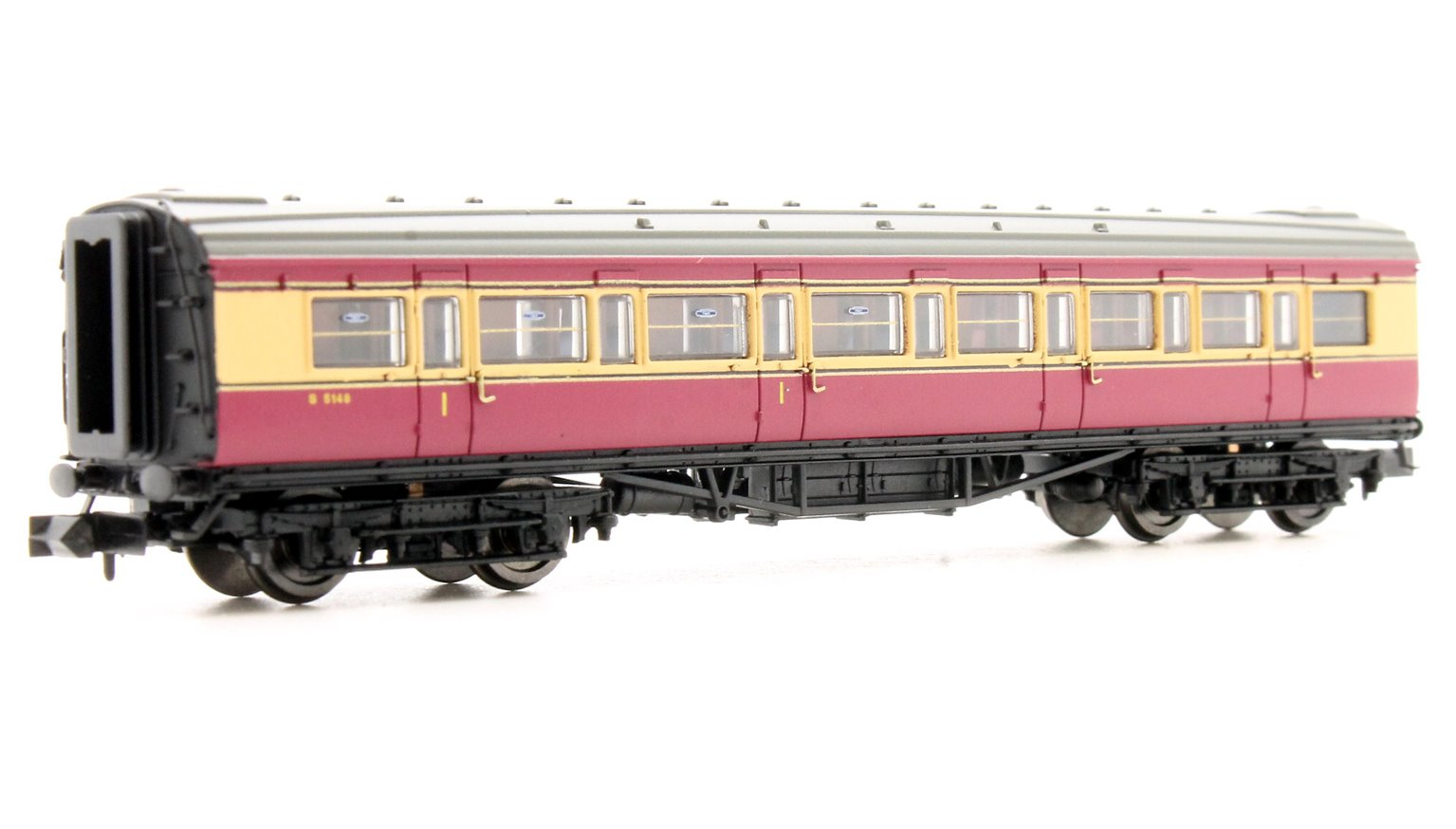Maunsell Coach BR Composite Crimson & Cream 5148