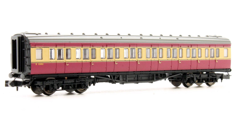 Maunsell Coach BR 3rd Class Crimson & Cream 2353