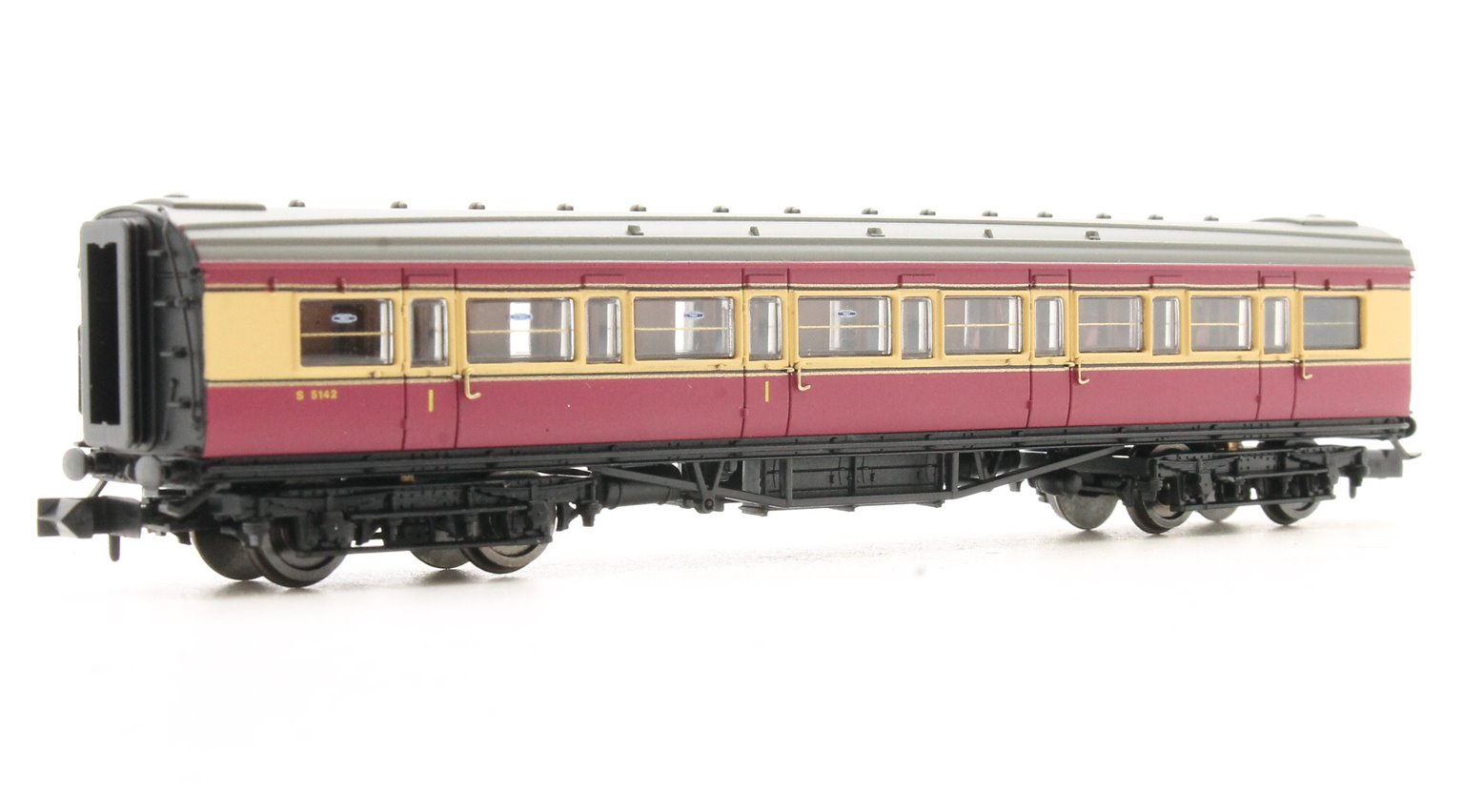 Maunsell Coach BR Composite Crimson & Cream 5142