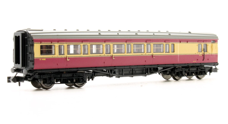 Maunsell Coach BR Brake 3rd Class Crimson & Cream 4482
