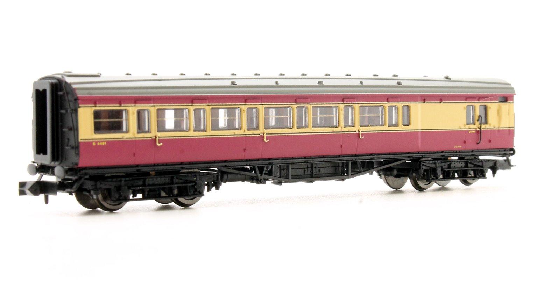 Maunsell Coach BR Brake 3rd Class Crimson & Cream 4481