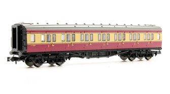 Maunsell Coach BR 1st Class Crimson & Cream 7669
