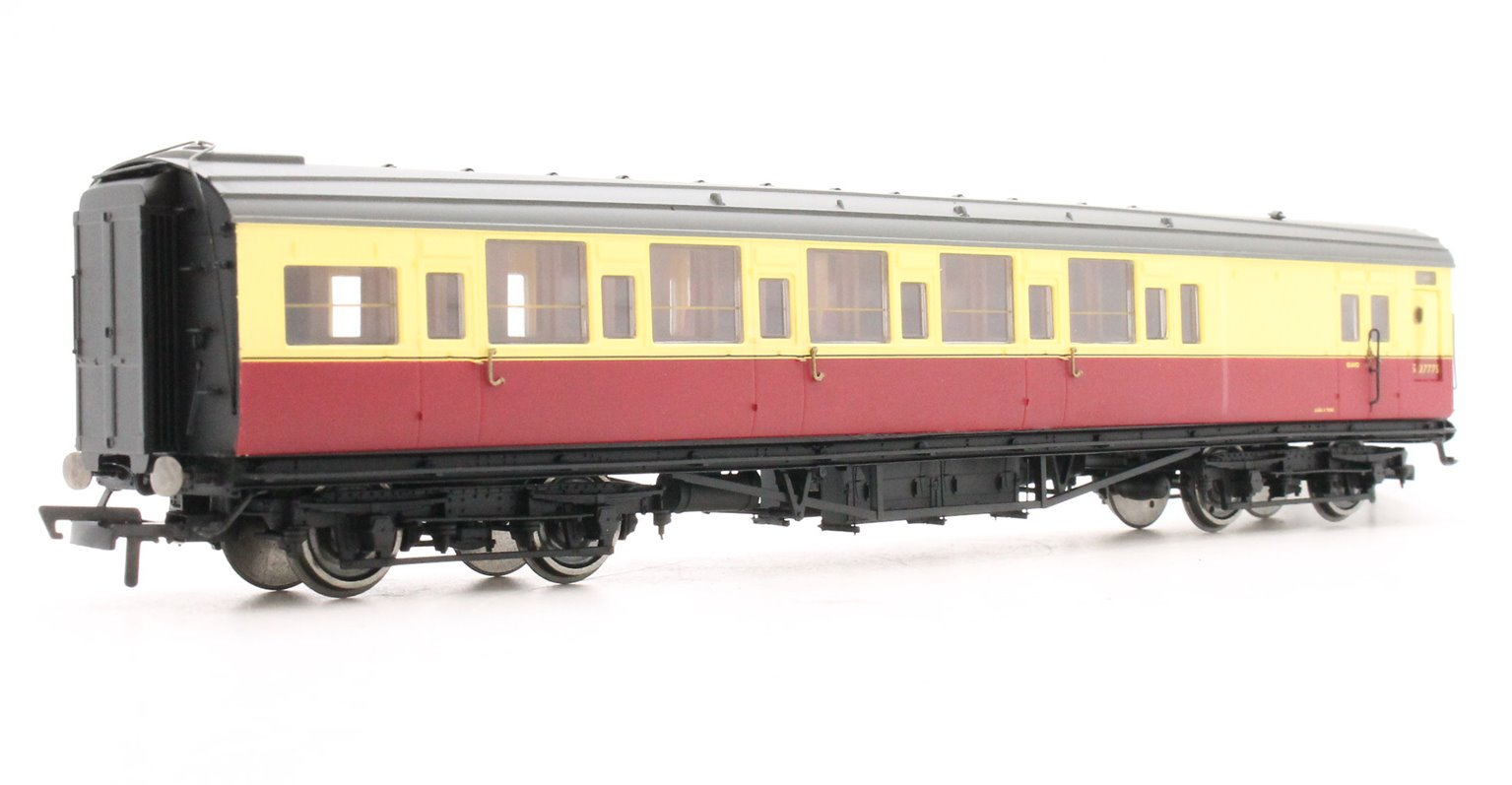 BR Maunsell Brake Third Class 'S3777S', Crimson & Cream