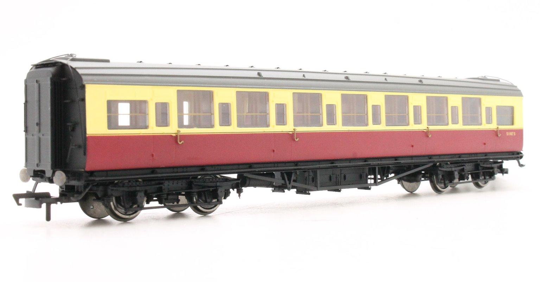 BR Maunsell Third Class 'S1187S', Crimson & Cream