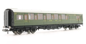 SR Maunsell Corridor Brake Third Class 3778 - Set 243, Olive