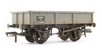 13 Ton Steel Sand Tippler Wagon BR Grey Weathered