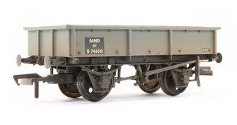 13 Ton Steel Sand Tippler Wagon BR Grey Weathered