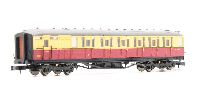 Gresley BR Carmine & Cream Brake Composite E10119E