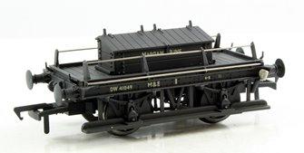GWR Shunters Truck BR Black 'Margam Jn' - Weathered