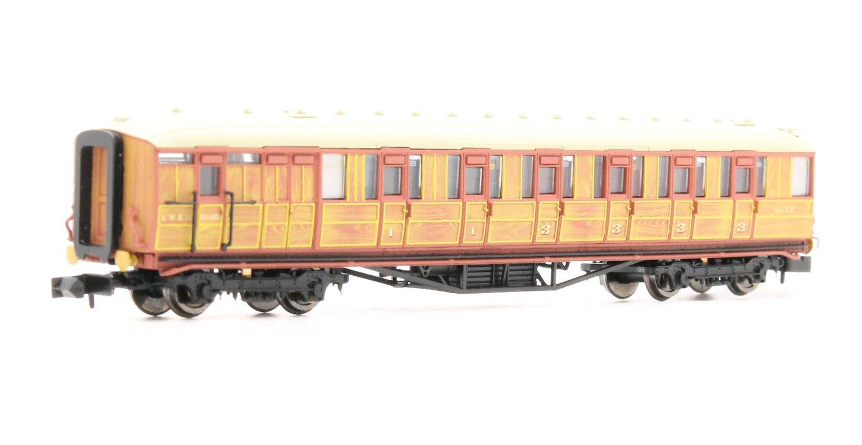 Gresley LNER Teak Brake 5542