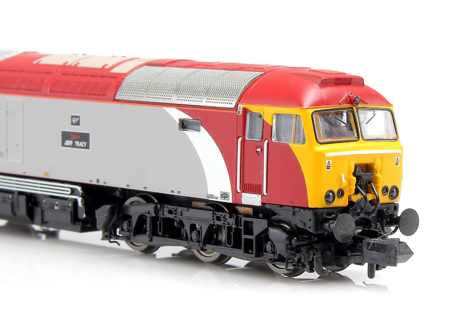 "Class 57 306 ""Jeff Tracy"" Virgin Diesel Locomotive"