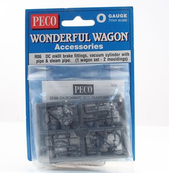 Peco RO6 Dean Churchward vacuum brake fittings & pipes