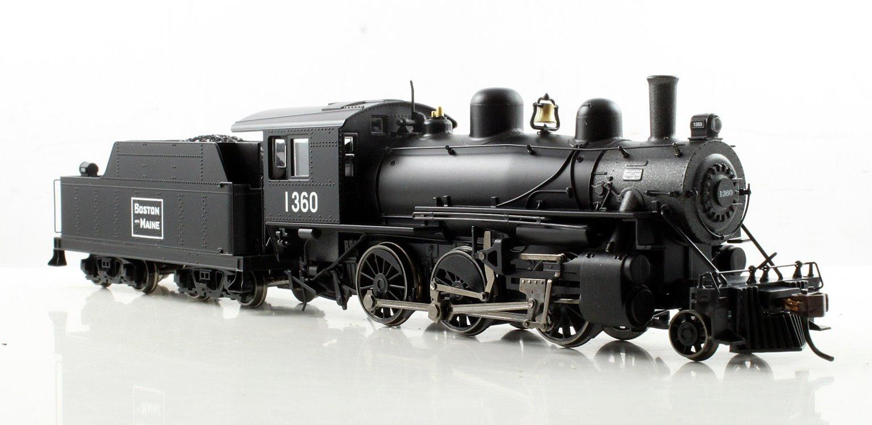 ALCO 2-6-0 Steam Locomotive Boston & Maine #1360 (DCC Sound)