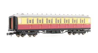 Gresley BR Carmine & Cream 1st Class E11019E