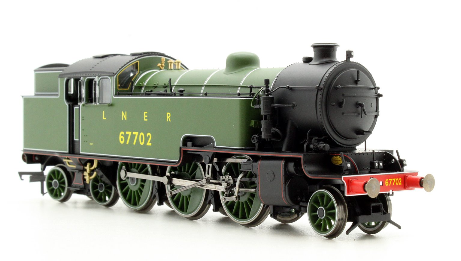 LNER Green 2-6-4T '67702' Thompson L1 Class Locomotive