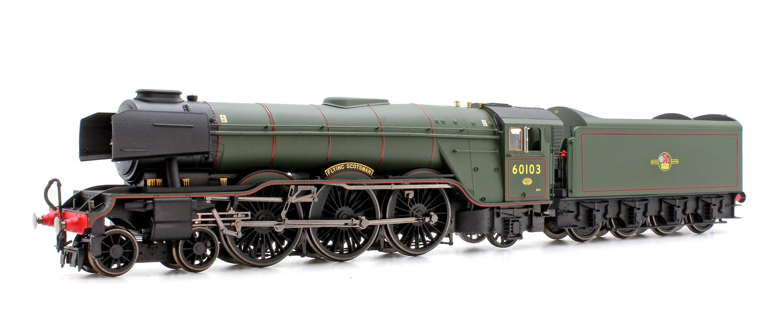 BR 4-6-2 'Flying Scotsman' 60103 A3 Class, Brunswick Green with TTS Sound