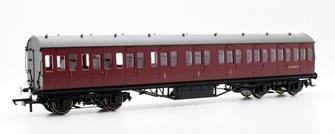 BR (exLMS) Maroon 57' Non-Corridor Composite Coach BR Maroon No.M16574M