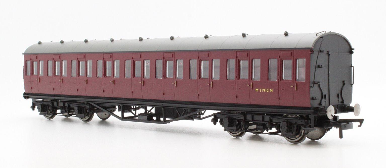 BR (exLMS) Maroon 57' Non-Corridor Third Class Coach BR Maroon No.M11912M