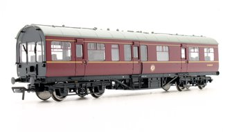 LMS 50' Inspection Coach BR Maroon