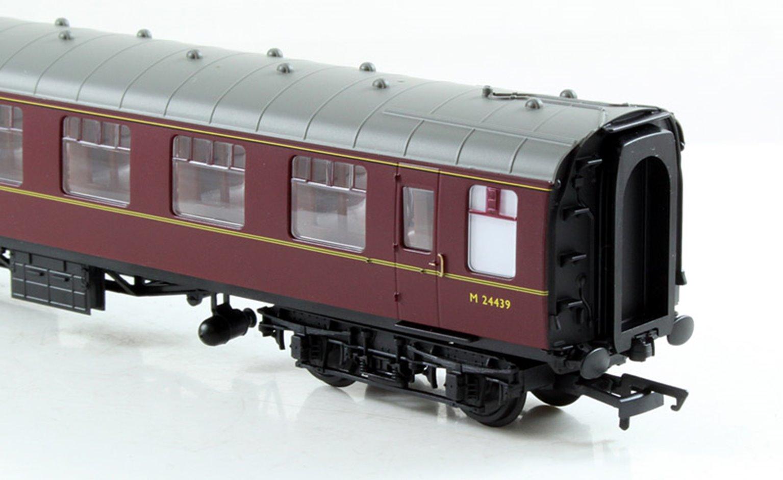 BR Mk1 2nd Class Coach - BR Maroon M24439