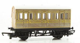 RailRoad LNER 4 Wheel Coach