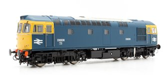 Class 33/0 (Late) #D6506 In BR Blue Livery With Full Yellow Ends