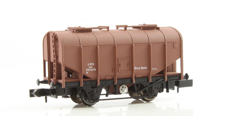 Dapol 2F-036-015 Bulk Grain Hopper - LMS Bauxite #701376