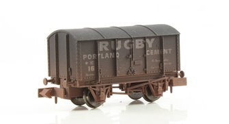 Dapol 2F-013-020 Gunpowder Van Rugby Cement 16 - Weathered